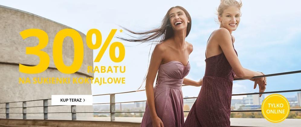 Peek & Cloppenburg: 30% rabatu na sukienki koktajlowe