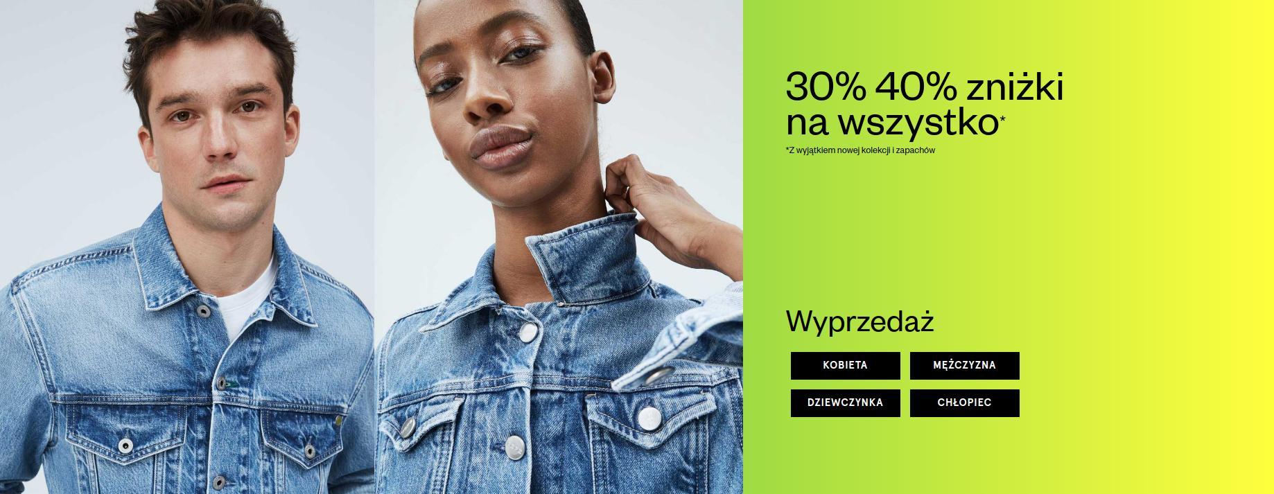 Pepe Jeans: 30% i 40% rabatu na odzież
