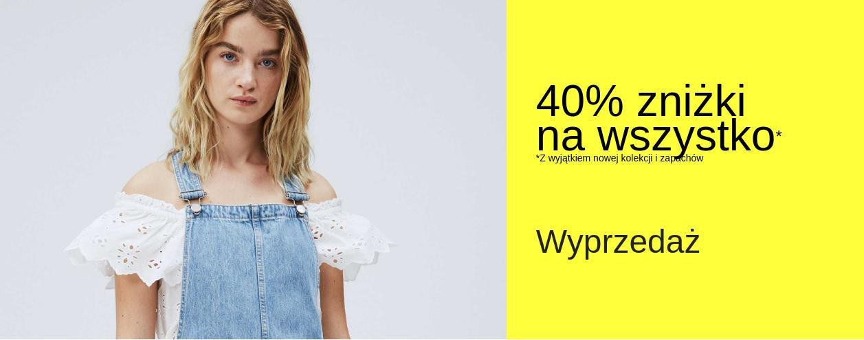 Pepe Jeans: wyprzedaż 40% zniżki na odzież damską, męską i dziecięcą