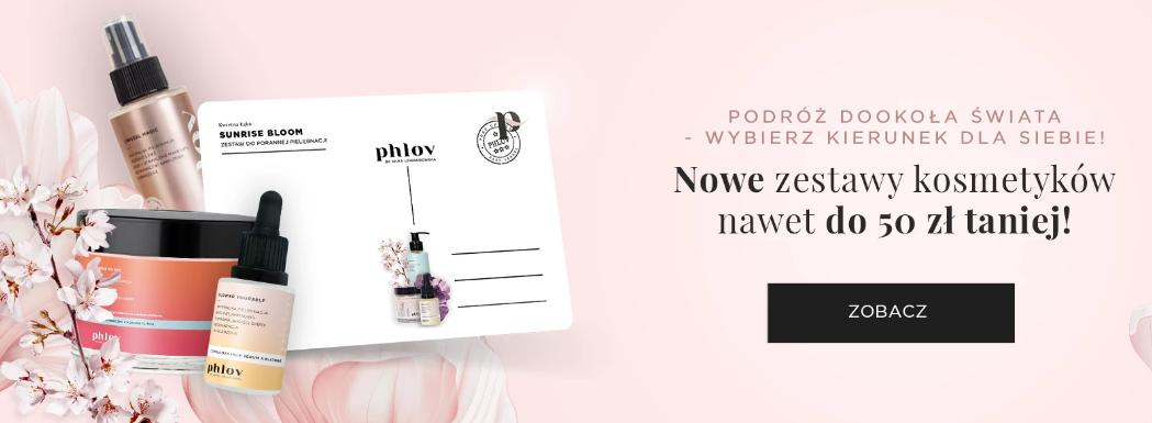 PHLOV by Anna Lewandowska: do 50 zł rabatu na kosmetyki naturalne
