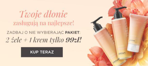 PHLOV by Anna Lewandowska PHLOV by Anna Lewandowska: 2 żele plus 1 krem za 99 zł