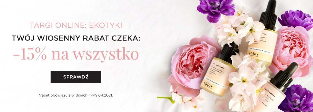 PHLOV by Anna Lewandowska: 15% zniżki na kosmetyki naturalne i wegańskie