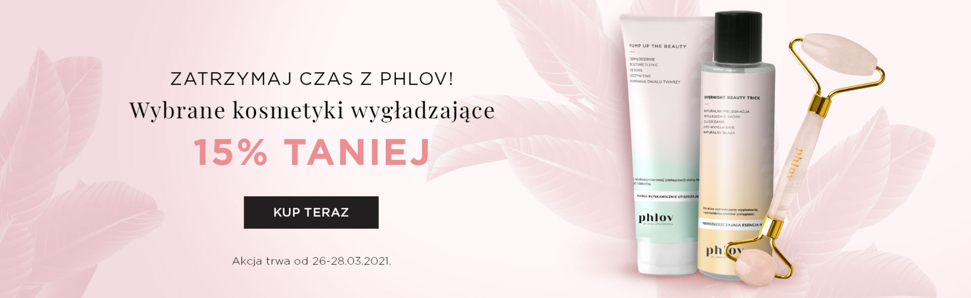 PHLOV by Anna Lewandowska: 15% rabatu na wybrane kosmetyki wygładzające