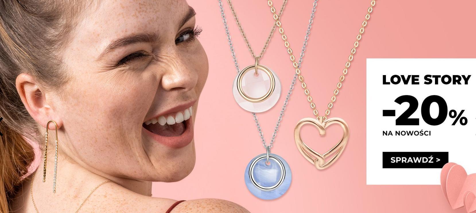 Picky Pica: 20% zniżki na nowości biżuterii - prezent na Walentynki