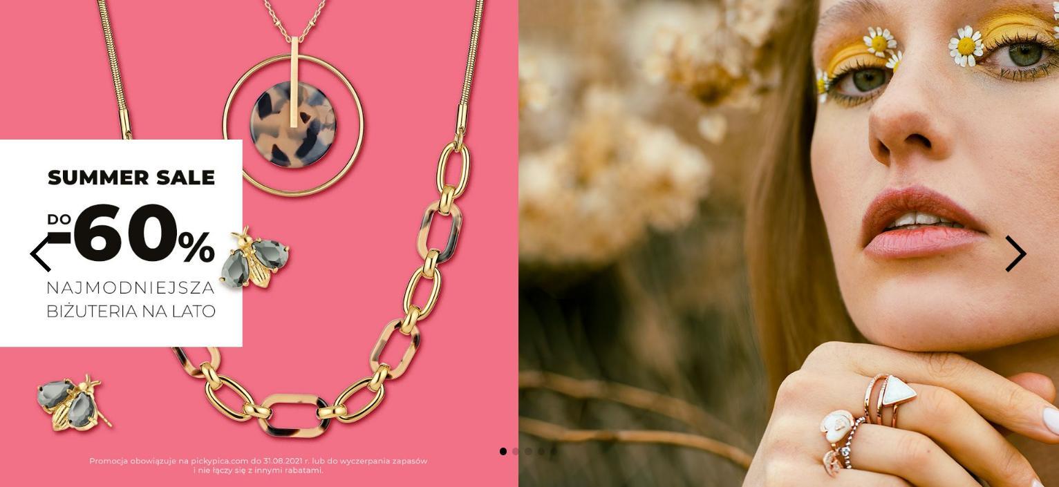 Picky Pica: wyprzedaż do 60% rabatu na biżuterię damską