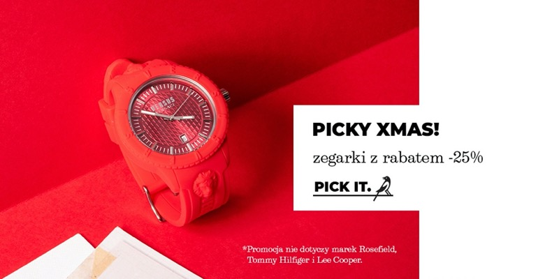 Picky Pica: 25% rabatu na zegarki damskie i męskie