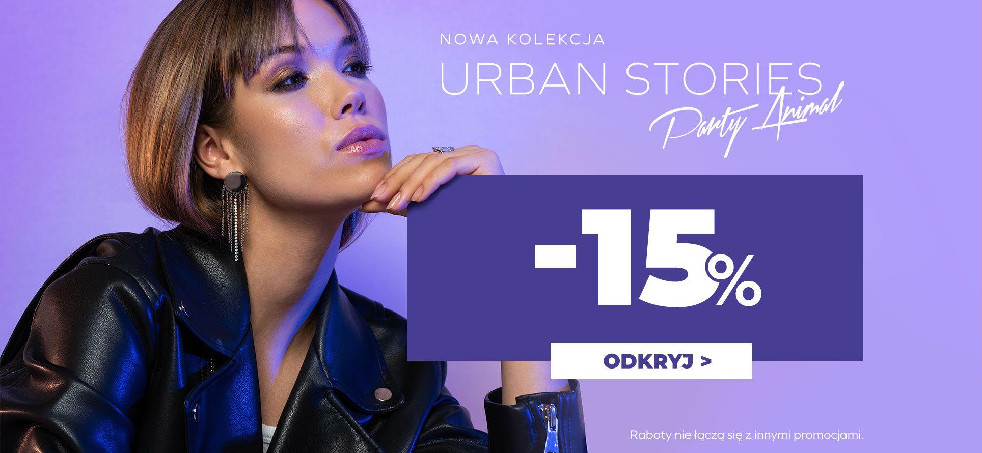 Picky Pica Picky Pica: 15% zniżki na nową kolekcję biżuterii Urban Stories Party Animal