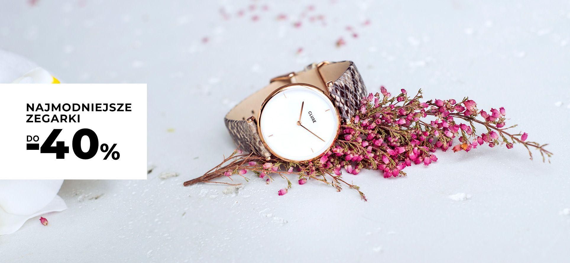 Picky Pica: do 40% zniżki na najmodniejsze zegarki