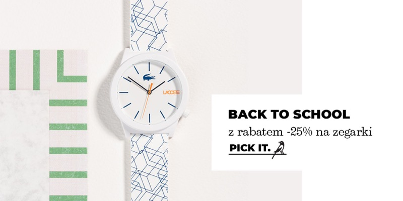 Picky Pica: 25% zniżki na zegarki damskie i męskie