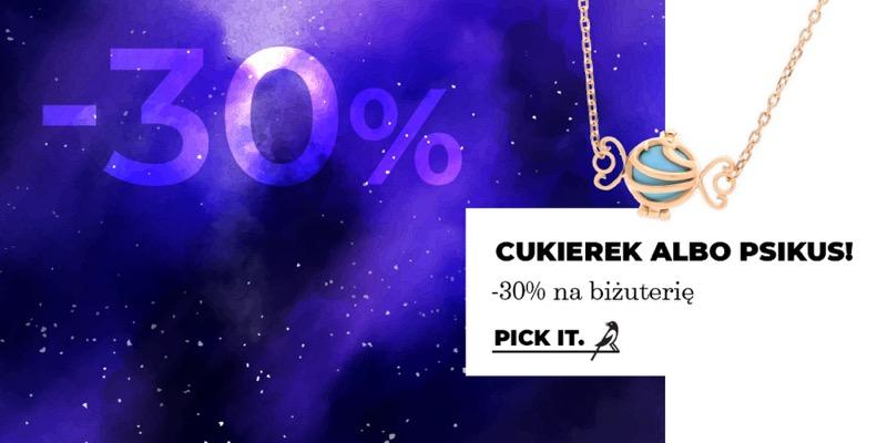 Picky Pica: z okazji Halloween 30% rabatu na biżuterię