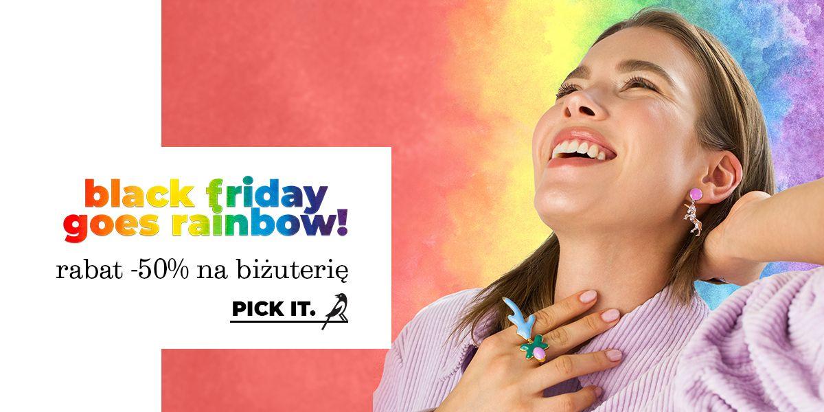 Picky Pica: Black Friday 50% rabatu na biżuterię oraz 25% zniżki na zegarki