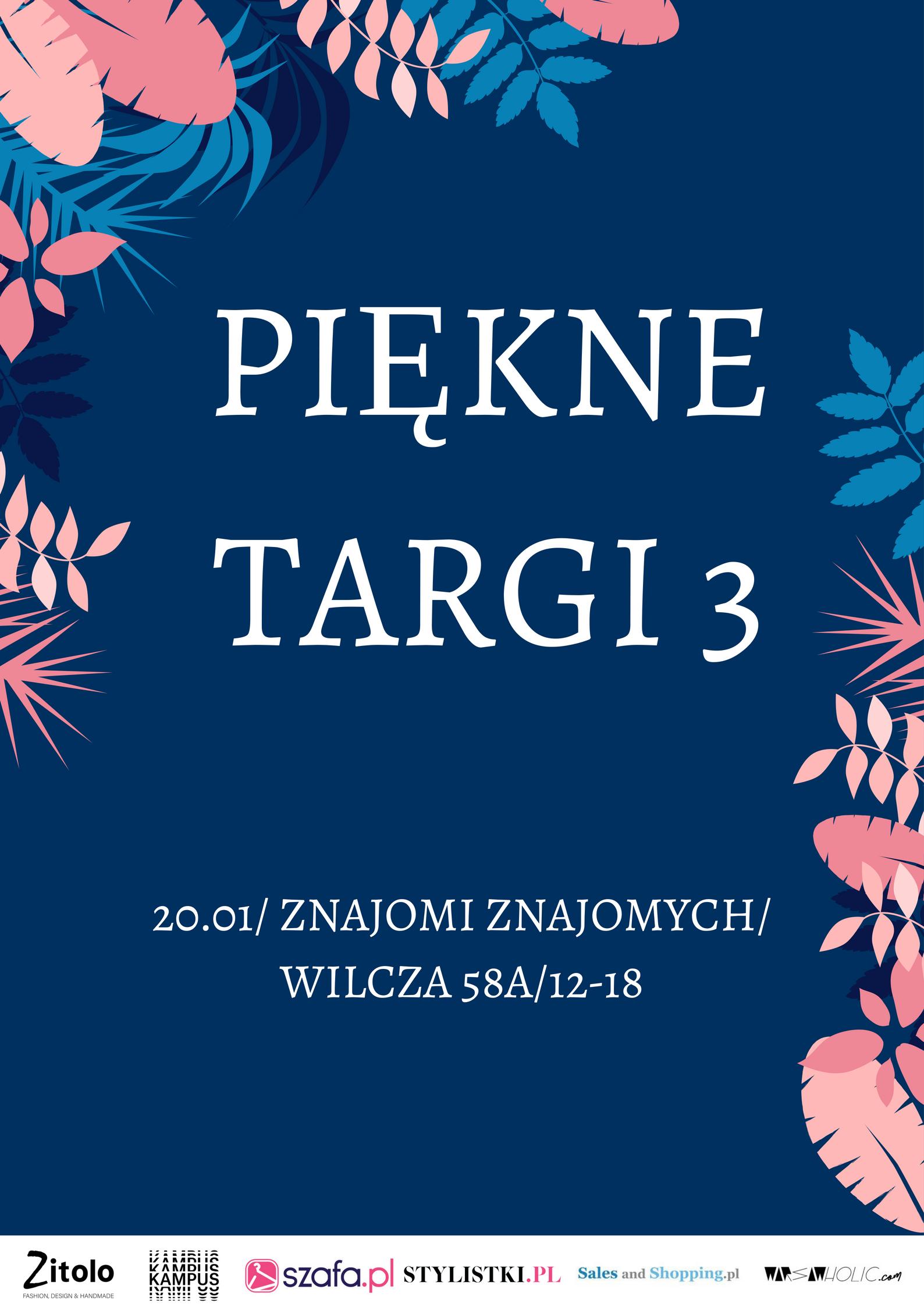 Piękne Targi Mody Warszawa 20 stycznia 2018
