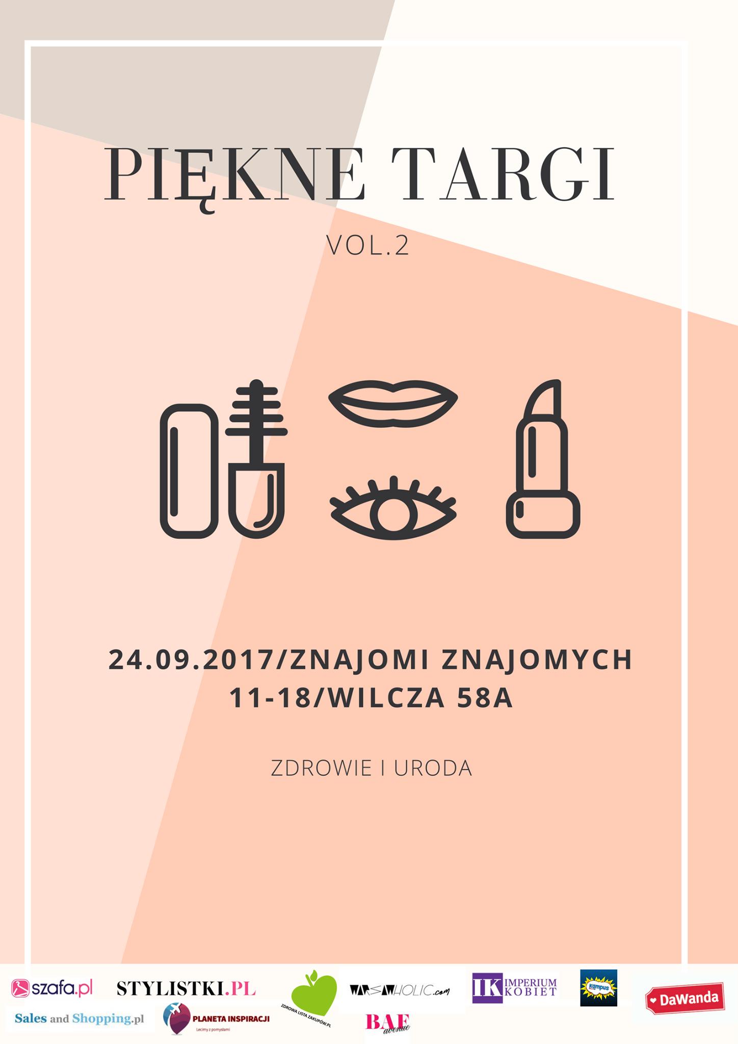 Piękne Targi Mody Warszawa 24 września 2017