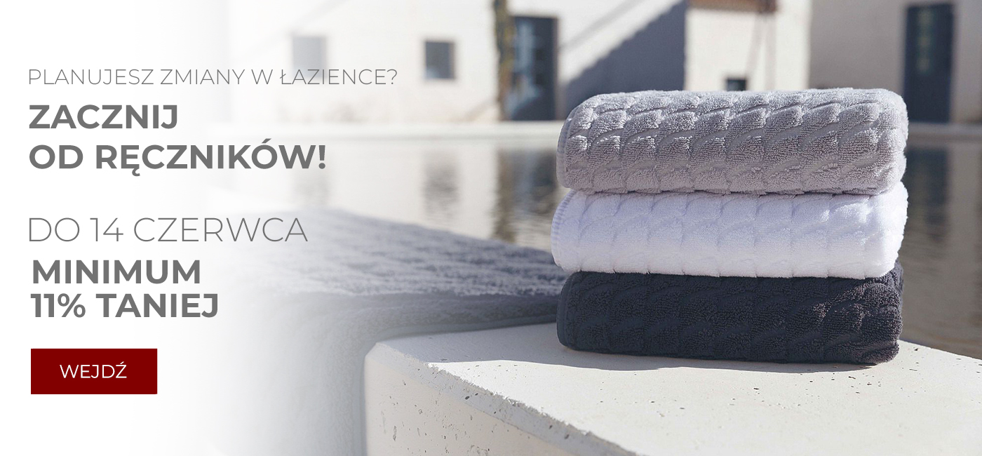Pod Pierzyną: minimum 11% rabatu na ręczniki