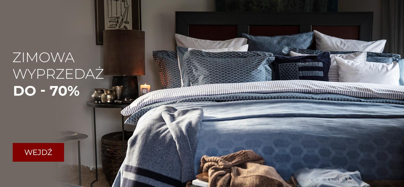 Pod Pierzyną: zimowa wyprzedaż do 70% zniżki na pościel, prześcieradła, tekstylia i artykuły domowe