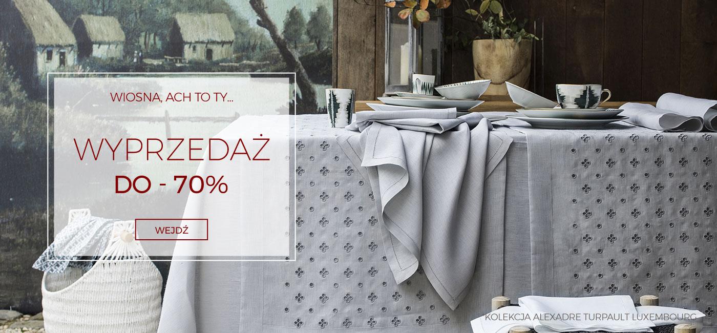 Pod Pierzyną: wyprzedaż do 70% zniżki na pościele, koce, narzuty, ręczniki                         title=