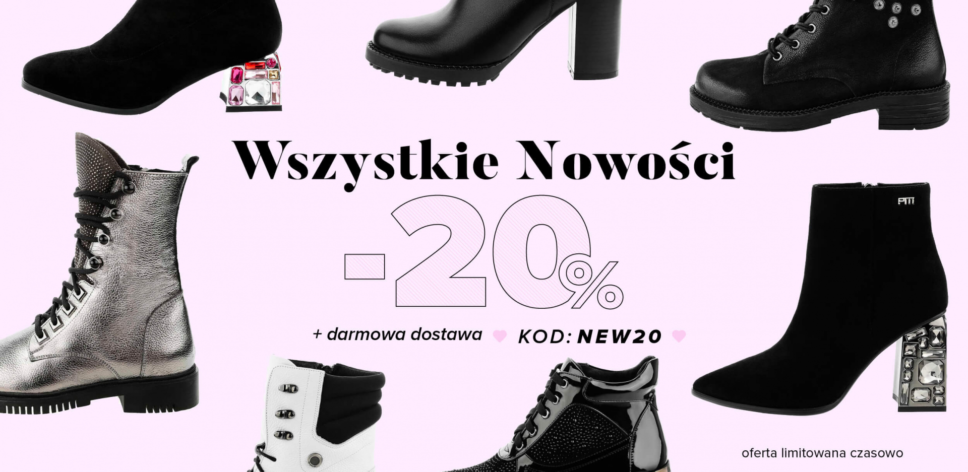 Primamoda: 20% zniżki na buty damskie i męskie oraz torebki z nowej kolekcji