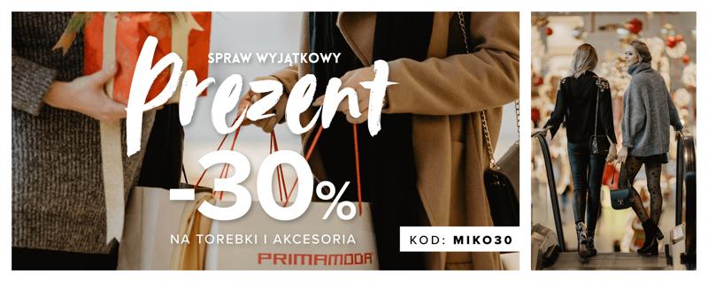 Primamoda: 30% rabatu na torebki oraz akcesoria damskie i męskie