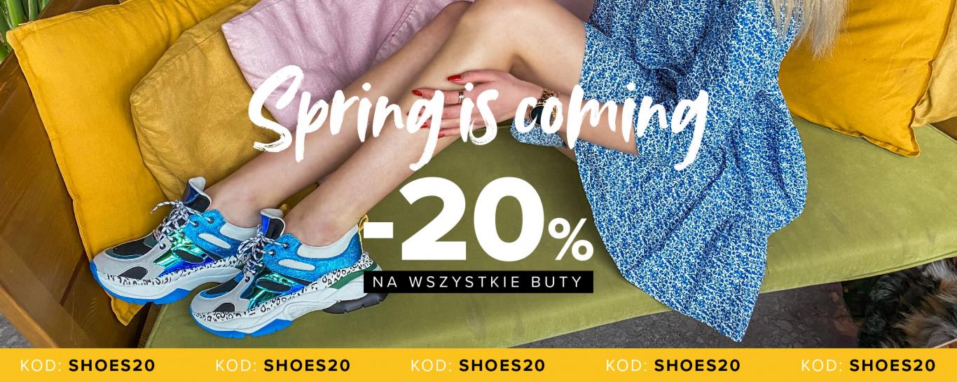 Primamoda: 20% rabatu na wszystkie buty damskie