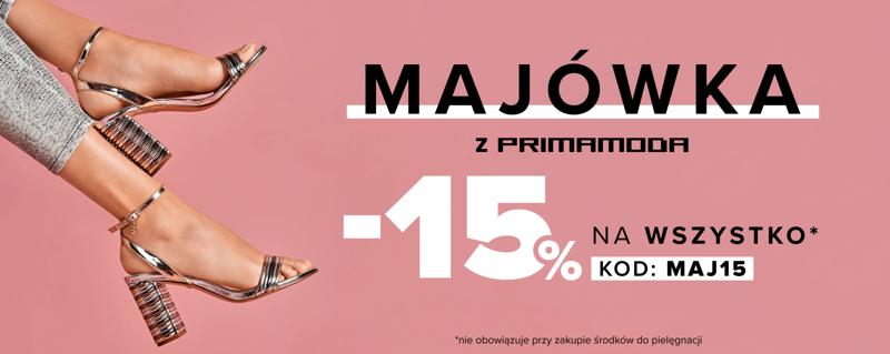 0744c0ea8e26c Primamoda  15% zniżki na buty damskie i męskie oraz torebki