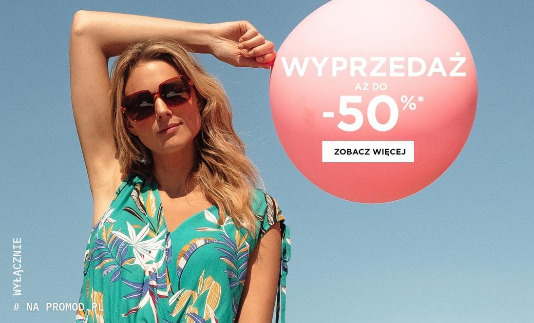 Promod: wyprzedaż do 50% zniżki na odzież damską