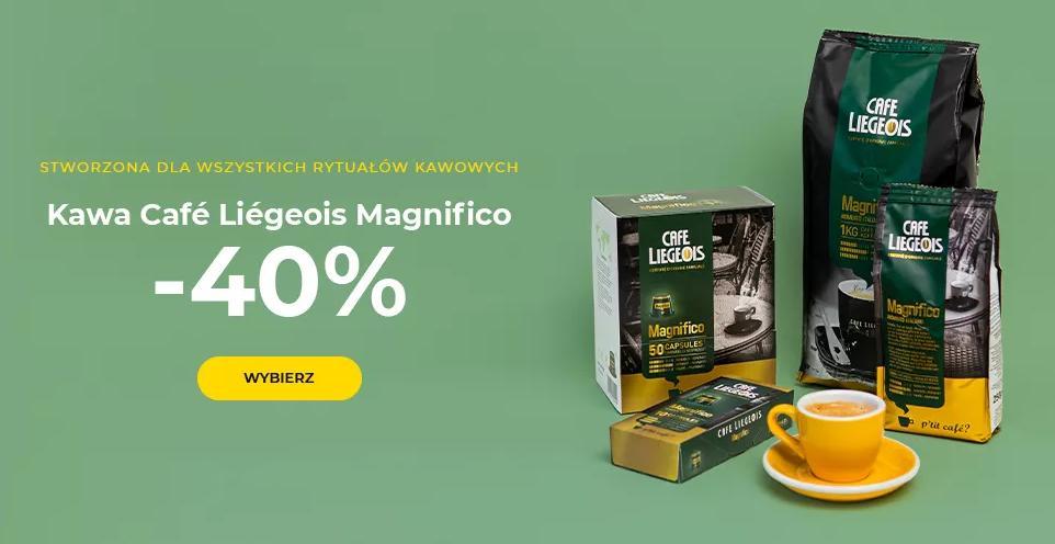 Przyjaciele Kawy: 40% rabatu na kawę Café Liégeois Magnifico
