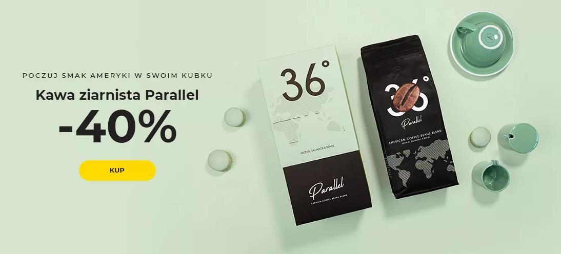 Przyjaciele Kawy: 40% rabatu na kawę ziarnistą Parallel