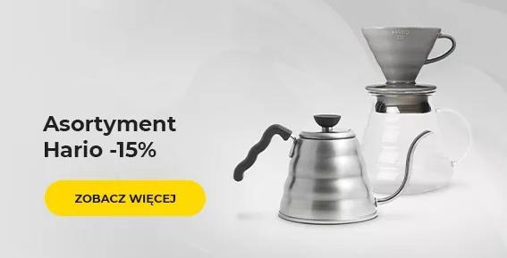Przyjaciele Kawy: 15% zniżki na asortyment do kawy marki Hario