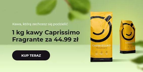 Przyjaciele Kawy: 1 kg kawy Caprissimo Fragrante za 44,99 zł