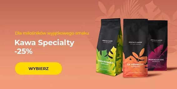 Przyjaciele Kawy: 25% rabatu na kawę speciality