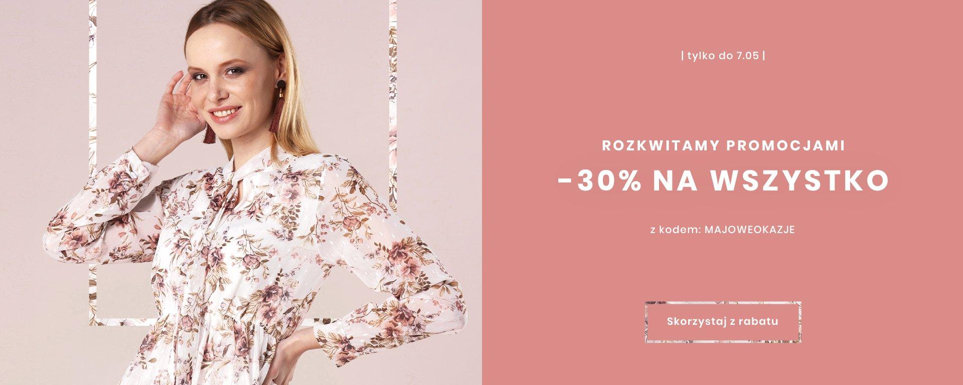 Ptakmoda: 30% zniżki na modne ubrania damskie                         title=