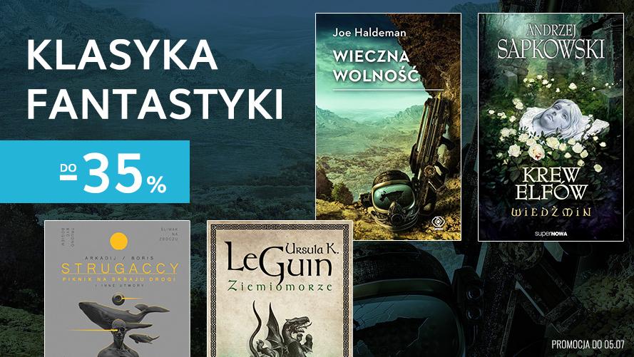 Publio: do 35% zniżki na książki z kategorii fantastyka
