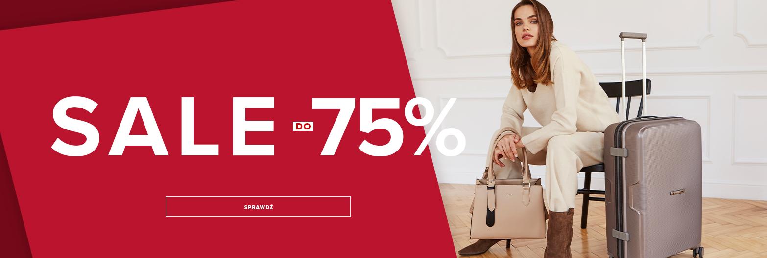 Puccini: wyprzedaż do 75% rabatu na walizki, torby i plecaki, torebki, portfele, paski