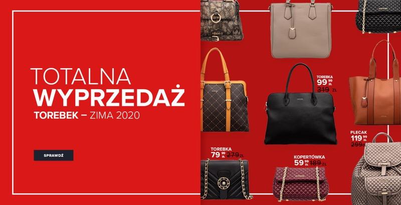 Puccini: wyprzedaż do 71% zniżki na torebki damskie