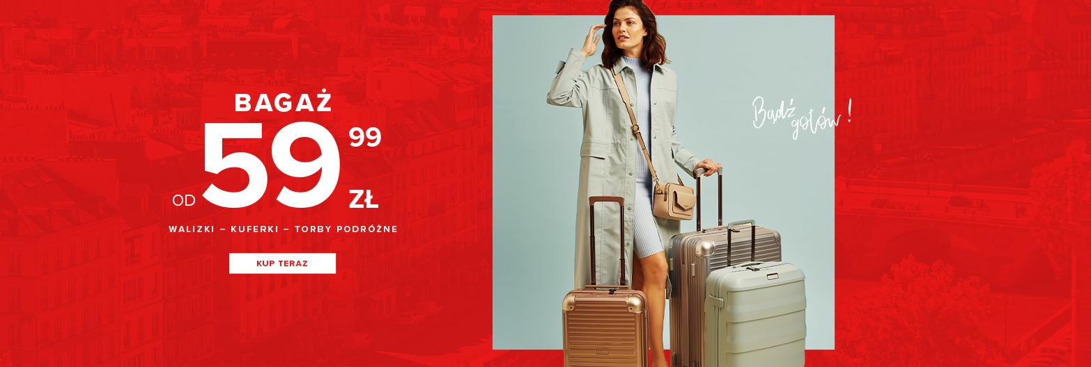 Puccini: bagaż - walizki, kuferki, torby podróżne od 59,99 zł