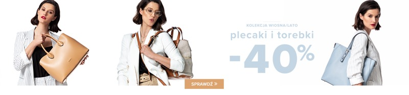 Puccini: 40% zniżki na plecaki i torebki z kolekcji wiosna/lato