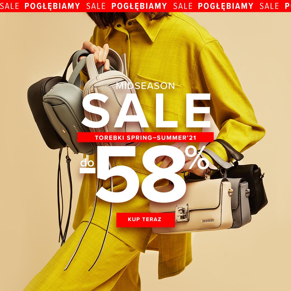 Puccini Puccini: wyprzedaż do 58% zniżki na torby i torebki