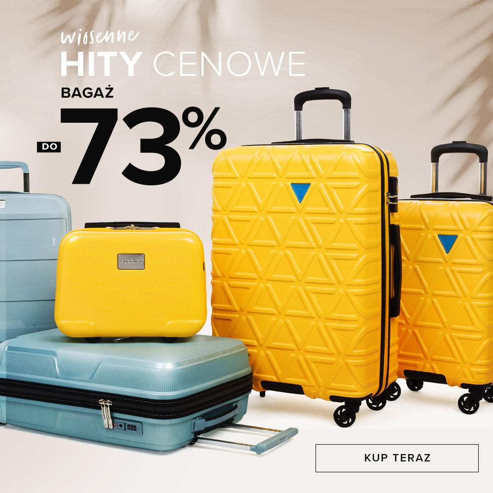 Puccini: do 73% zniżki na bagaż - walizki podróżne