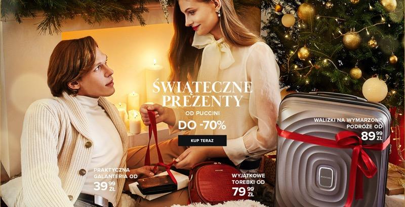 Puccini: do 70% rabatu na walizki, torebki i galanterię