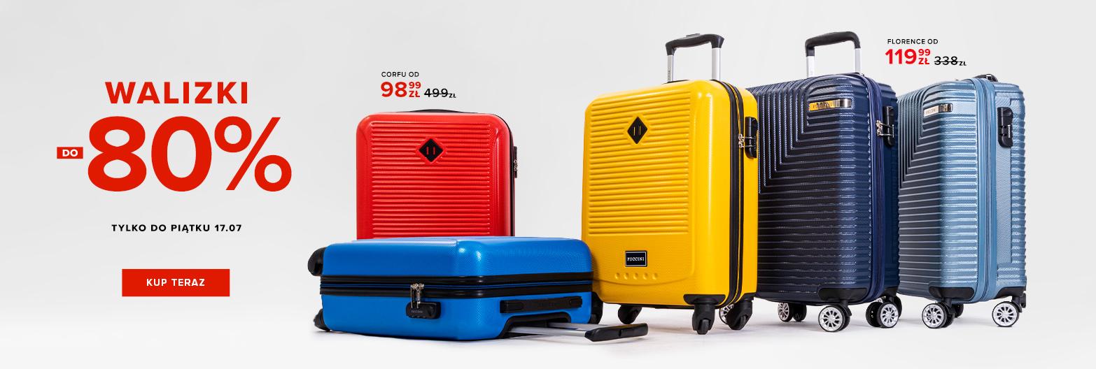 Puccini: wyprzedaż do 80% zniżki na walizki podróżne