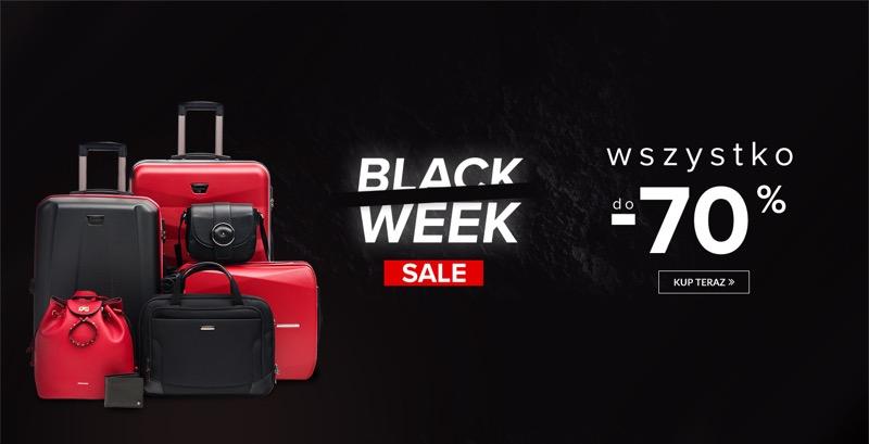 2286fae3e59d5 Black Week Puccini: 70% rabatu na walizki, torby i torebki