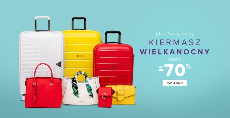 757cb978ec599 Puccini: Kiermasz Wielkanocny do 70% zniżki walizki, torebki, torby,  kosmetyczki, portfele i plecaki