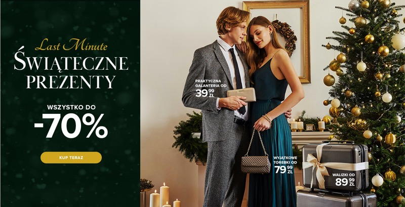 Puccini: do 70% zniżki na świąteczne prezenty