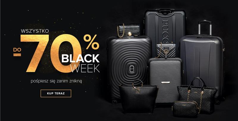 Puccini: Black Week do 70% rabatu na walizki, torby, torebki i całą galanterię skórzaną