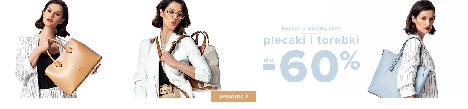 Puccini: do 60% rabatu na plecaki i torebki z kolekcji wiosna-lato 2019