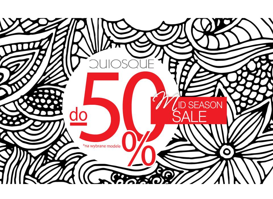 Quiosque: wyprzedaż do 50% zniżki