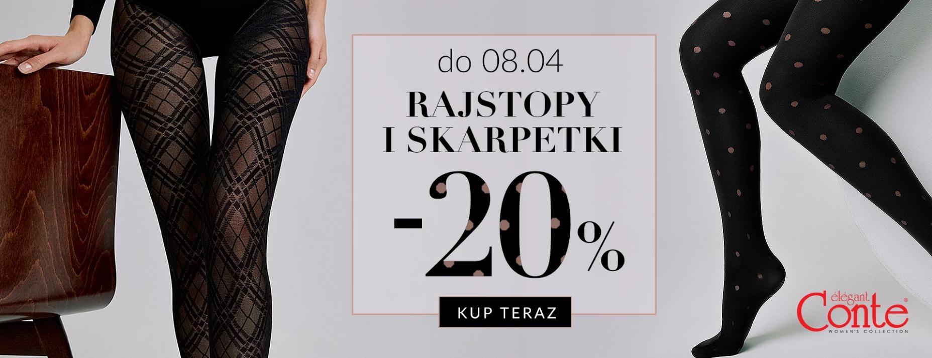 Quiosque: 20% zniżki na rajstopy i skarpetki marki Conte