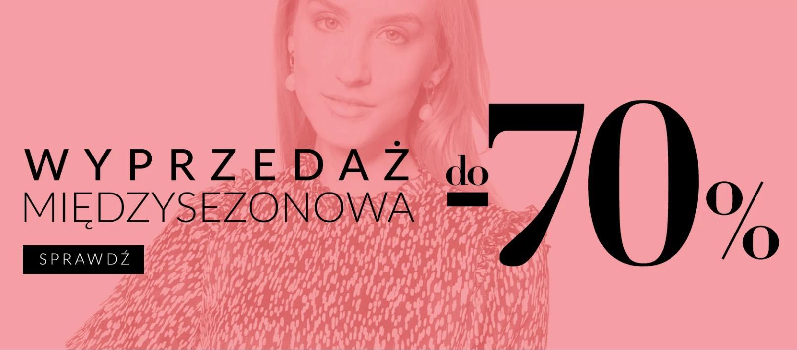Quiosque: wyprzedaż do 70% rabatu na odzież damską