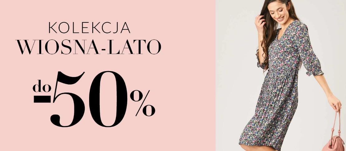 Quiosque: do 50% rabatu na odzież damską z nowej kolekcji wiosna-lato 2021