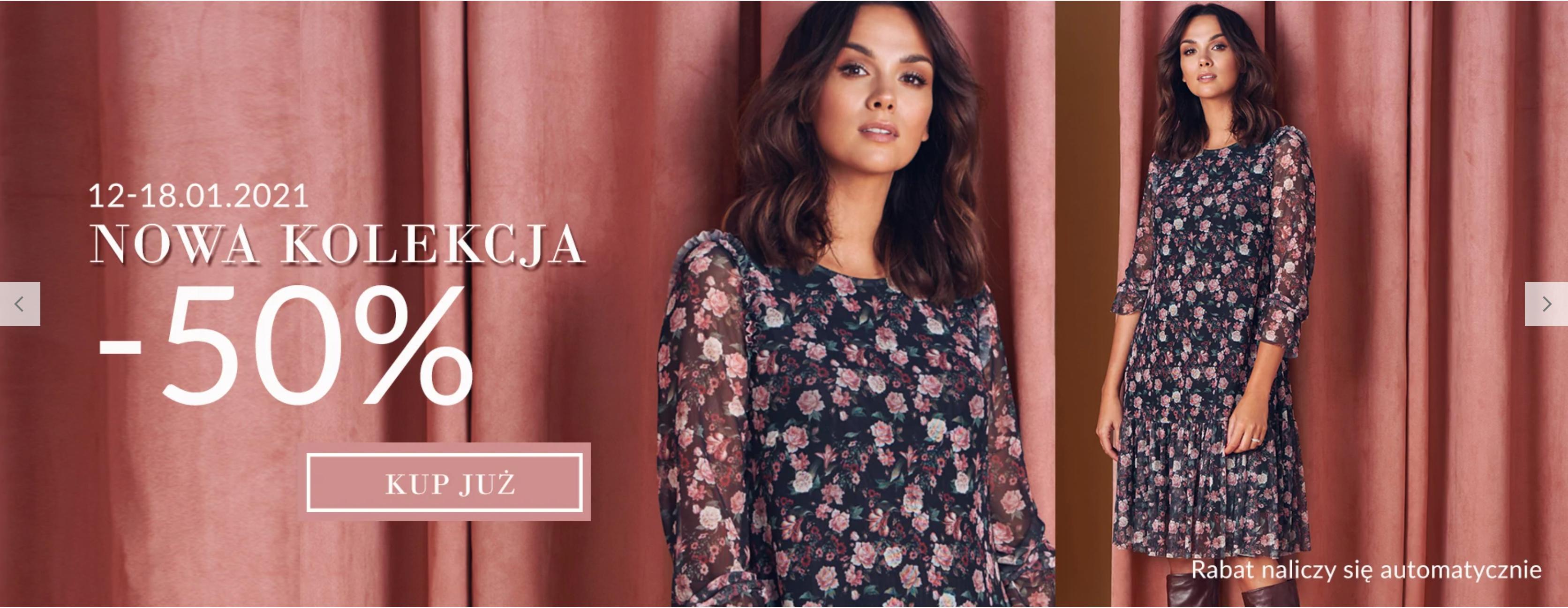 Quiosque Quiosque: 50% zniżki na nową kolekcję odzieży damskiej